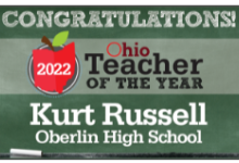 Kurt Russell - 2022 Teacher of the Year