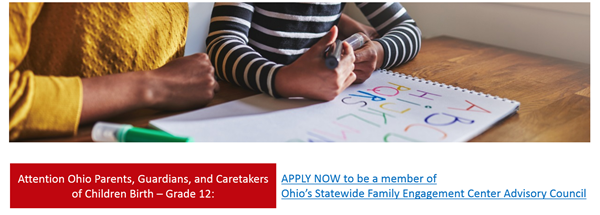 Family Engagement Opportunity