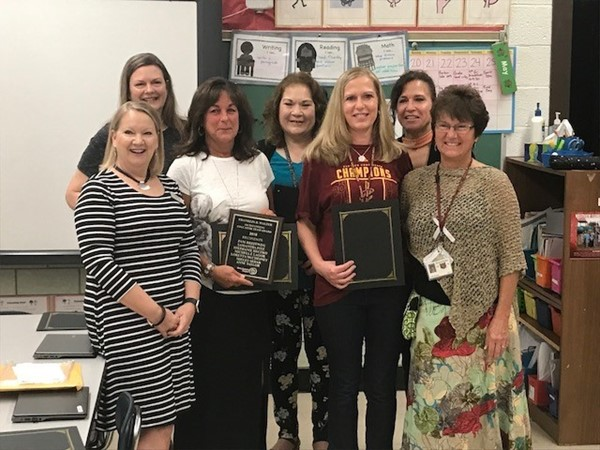 2018 Franklin B. Walter Outstanding Educator Award Recipients
