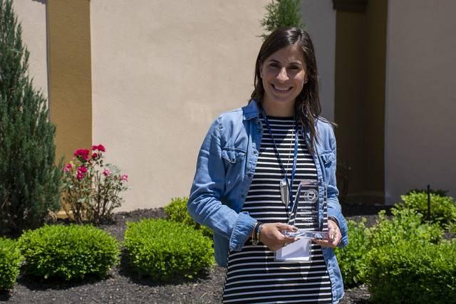 Bethany Shaw SST 2 Franklin B. Walter Award Recipient 2019