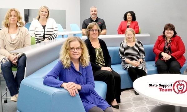 The State Support Team Region 2 Staff!