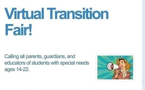 Join us for our 1st Virtual Transition Fair on April 29th