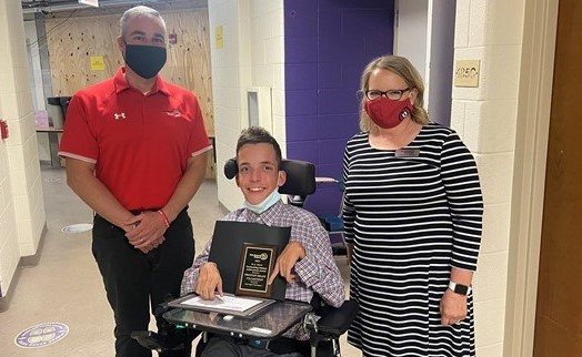 Preston Drain, R.A. Horn Outstanding Student Achievement Award Recipient